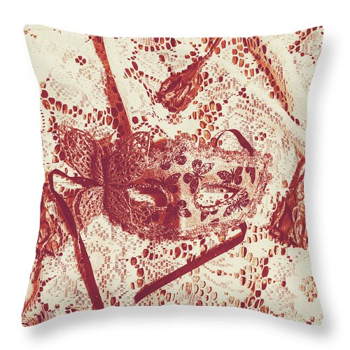 Theater Throw Pillow featuring the photograph Theatrical drama by Jorgo Photography - Wall Art Gallery