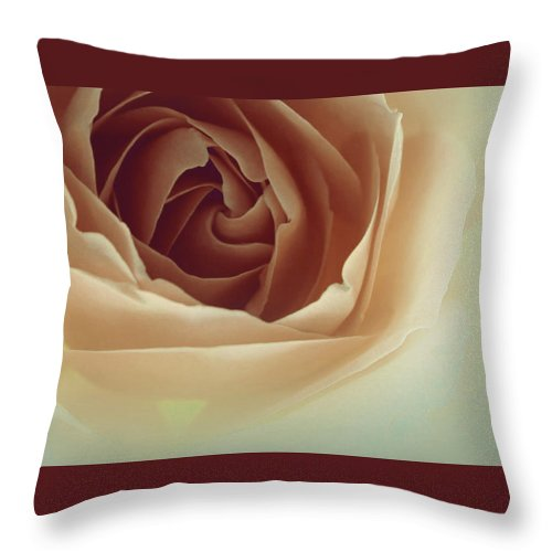 Throw Pillow featuring the photograph There Is Always Hope by The Art Of Marilyn Ridoutt-Greene