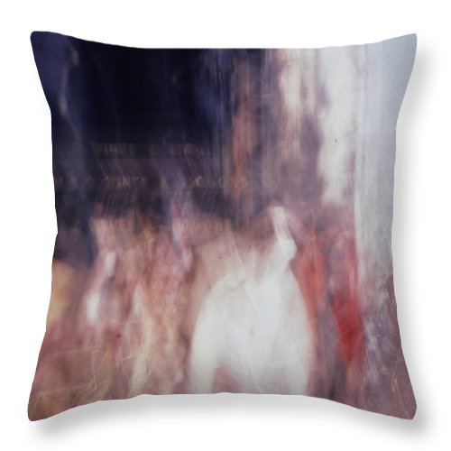 Crowd Throw Pillow featuring the photograph They Are Coming by Steven Huszar
