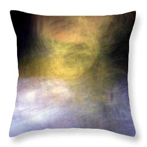 Ghost Throw Pillow featuring the photograph They Are Watching Us by Steven Huszar