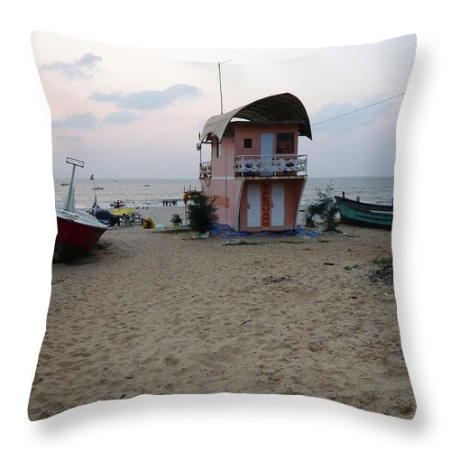 Pietyz Photography Throw Pillow featuring the photograph This Side Of Horizon by Piety Dsilva