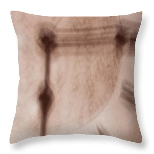Abstract Throw Pillow featuring the photograph This Time by Dorothy Hilde