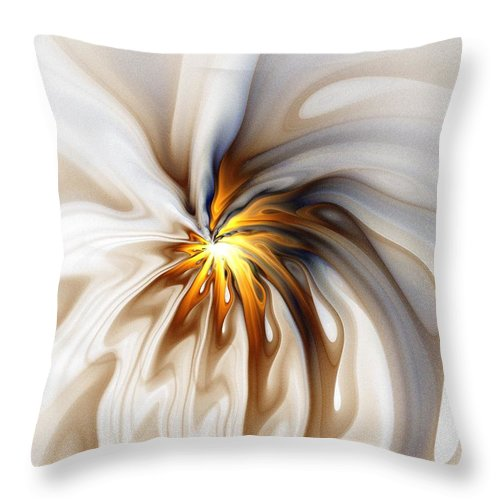 Digital Art Throw Pillow featuring the digital art This too will pass... by Amanda Moore