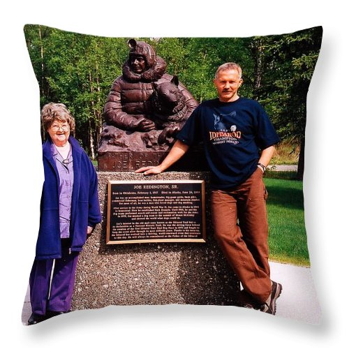 North America Throw Pillow featuring the photograph Three Champions ... by Juergen Weiss