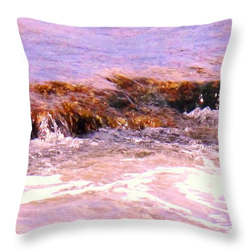 Tide Throw Pillow featuring the photograph Tidal Pool by Ian MacDonald