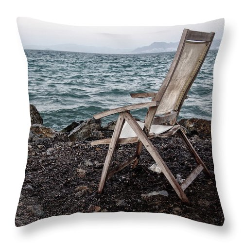 Memories Throw Pillow featuring the photograph Time And Memory by Philip Openshaw