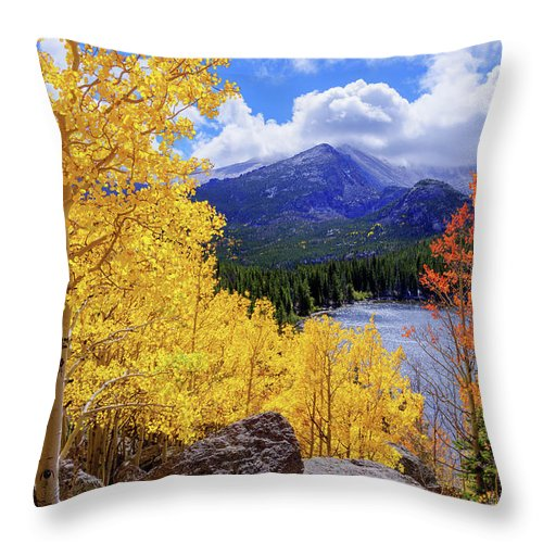 Time Throw Pillow featuring the photograph Time by Chad Dutson