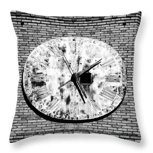 Time Throw Pillow featuring the photograph Time by David Lee Thompson