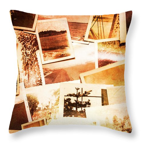 Photograph Throw Pillow featuring the photograph Time Worn Scenes And Places Background by Jorgo Photography - Wall Art Gallery