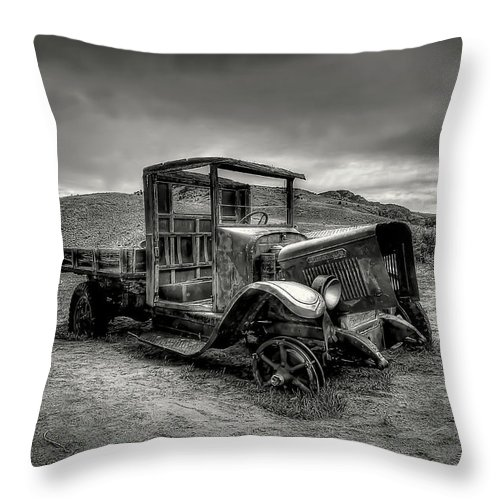 Tired Throw Pillow featuring the photograph Tired by Ryan Smith