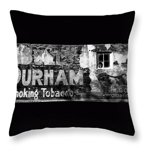 Tobacco Throw Pillow featuring the photograph Tobacco Days by David Lee Thompson