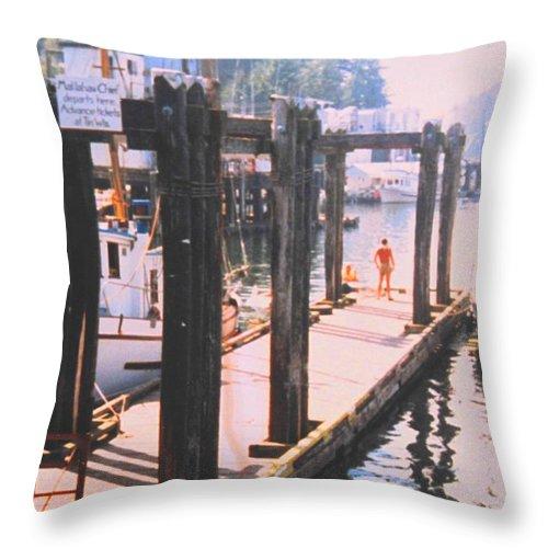 Tofino Throw Pillow featuring the photograph Tofino by Ian MacDonald