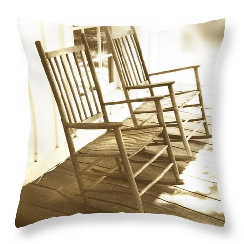 Together Throw Pillow featuring the photograph Together by Mal Bray