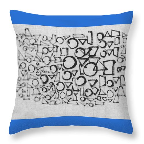 Tour De France Throw Pillow featuring the painting Racing In The Rain by Kim Kimura