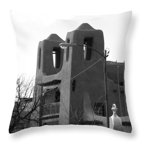 Architecture Throw Pillow featuring the photograph Town Hall by Rob Hans