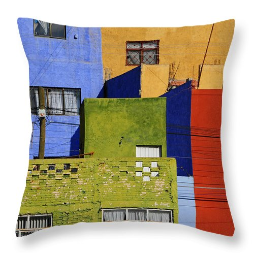 Skip Hunt Throw Pillow featuring the photograph Toy Box by Skip Hunt