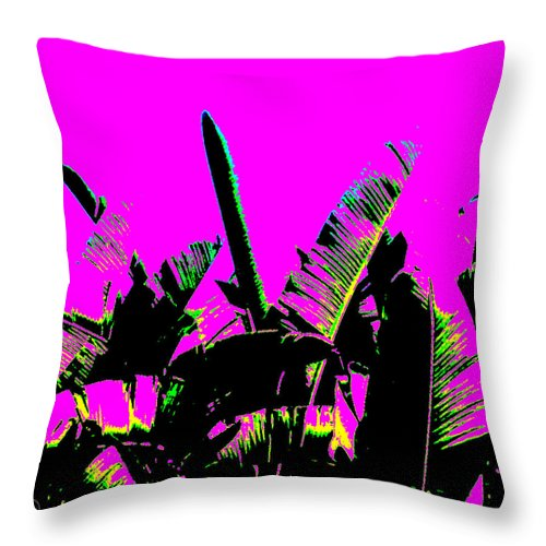 Square Throw Pillow featuring the digital art Transgenesis by Eikoni Images
