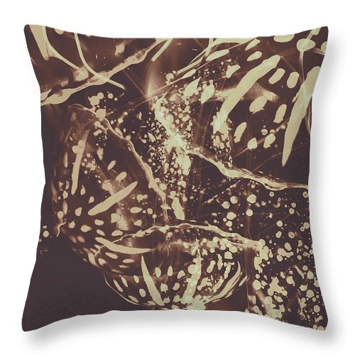 Fish Throw Pillow featuring the photograph Translucent Abstraction by Jorgo Photography - Wall Art Gallery