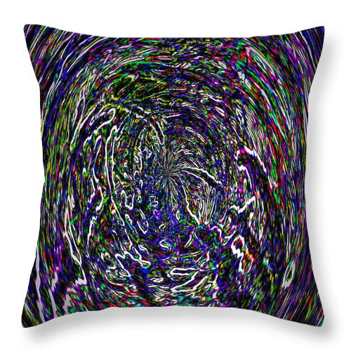 Travels Throw Pillow featuring the photograph Travels by Terry Anderson