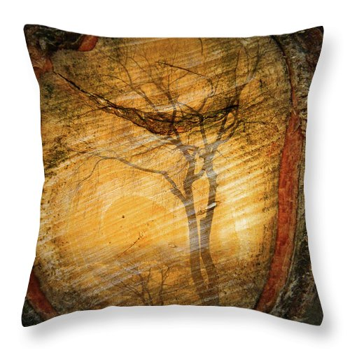 Trees Throw Pillow featuring the photograph Tree Within A Tree by Tara Turner