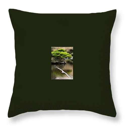 Trees Throw Pillow featuring the photograph Trees In Japan 14 by George Cabig