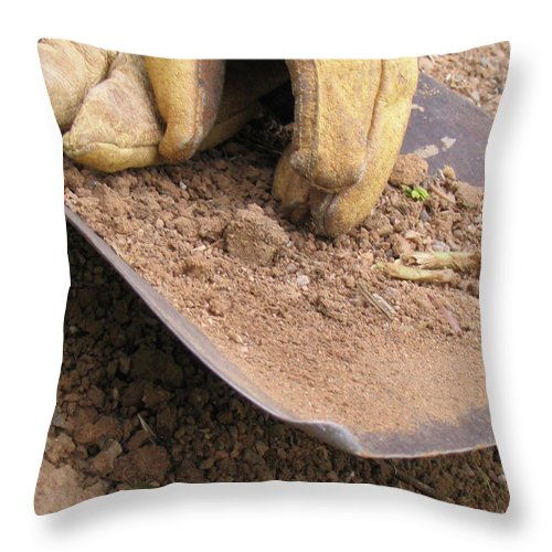 Photography Throw Pillow featuring the photograph True Work by Dawn Marshall