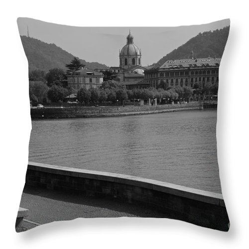 Canon Throw Pillow featuring the photograph Tune In by Noze P