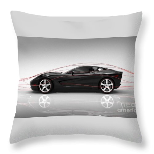 Tunnel Throw Pillow featuring the photograph Tunnel Wind by Archangelus Gallery