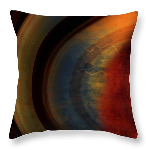 Tuscan Throw Pillow featuring the painting Tuscan by Jill English