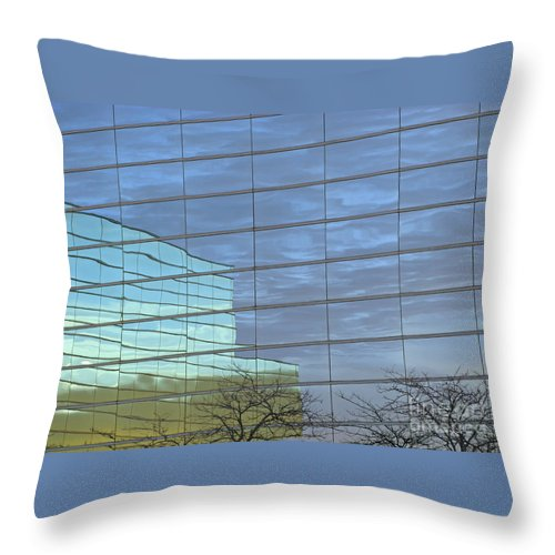 Twilight Throw Pillow featuring the photograph Twilight by Ann Horn