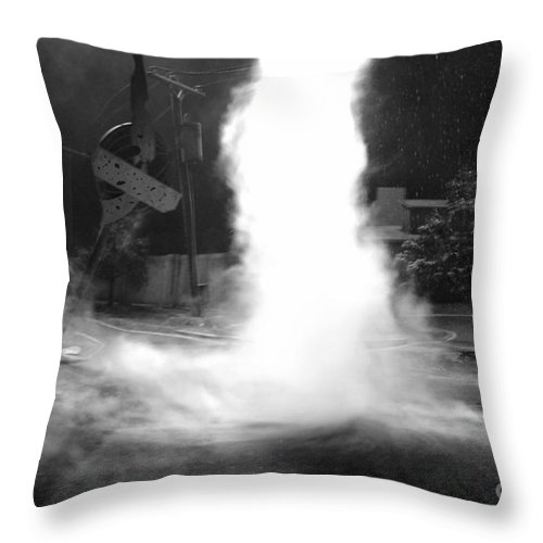 Twister Throw Pillow featuring the photograph Twister In The Neighborhood by David Lee Thompson