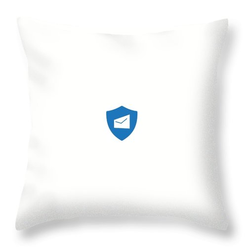 Otp Service Providers India Throw Pillow featuring the digital art Two Factors Authentication by Natasha Williams