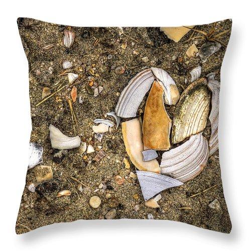 Beach Throw Pillow featuring the photograph Unbreak My Heart by Evelina Kremsdorf