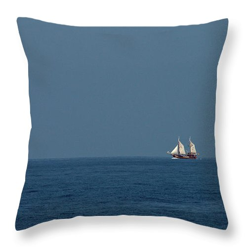 Valasretki Throw Pillow featuring the photograph Under The Spanish Flag by Jouko Lehto