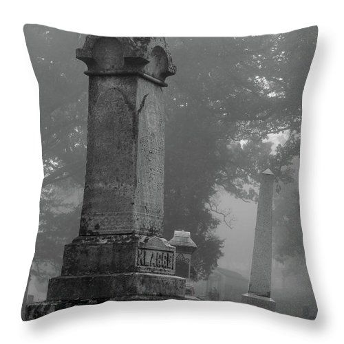 Autumn Throw Pillow featuring the photograph Uneven After Time by Wild Thing