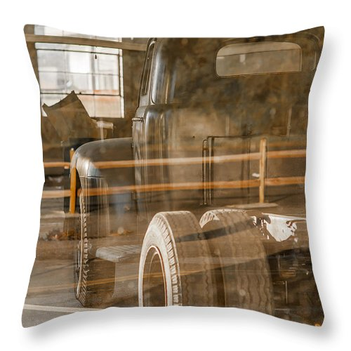 Truck Throw Pillow featuring the photograph Unpreserved 10 by Darwin King