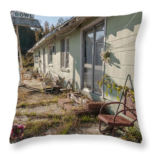 Unpreserved Throw Pillow featuring the photograph Unpreserved 9 by Darwin King