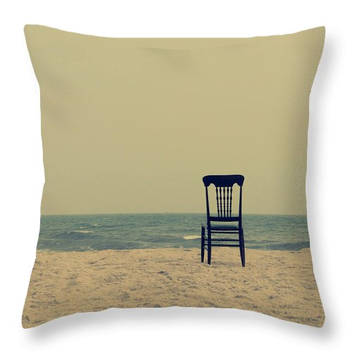 Ocean Throw Pillow featuring the photograph Until Tomorrow and Tomorrow and Tomorrow by Dana DiPasquale