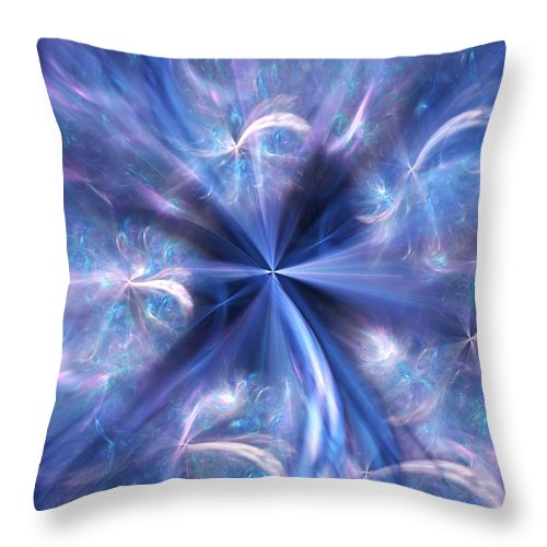 Digital Photography Throw Pillow featuring the digital art Untitled 12-13-09 by David Lane