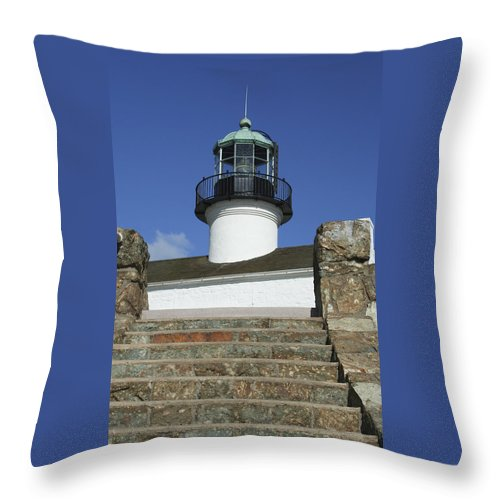 Bay Throw Pillow featuring the photograph Up To The Light by Margie Wildblood