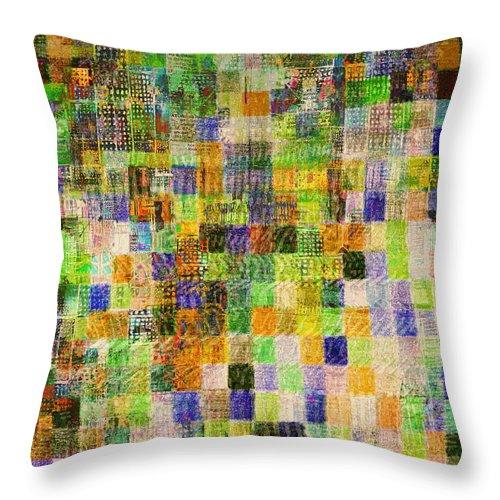 Urban Mystic Throw Pillow featuring the digital art Urban Mystic 3 by Andy Mercer