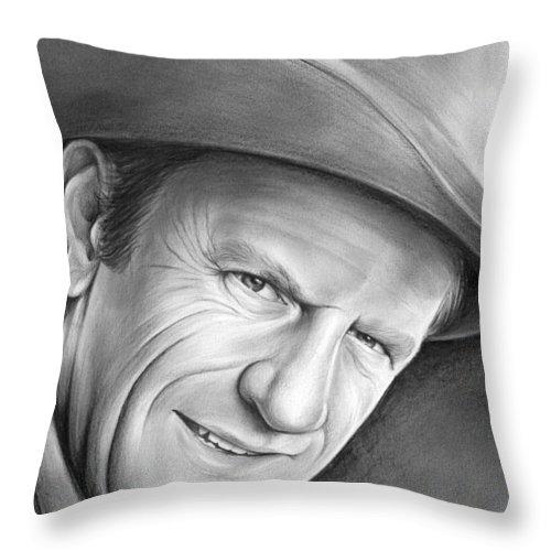 Gunsmoke's Matt Dillon Throw Pillow