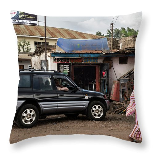 Used Throw Pillow featuring the photograph Used Spare Parts by RicardMN Photography