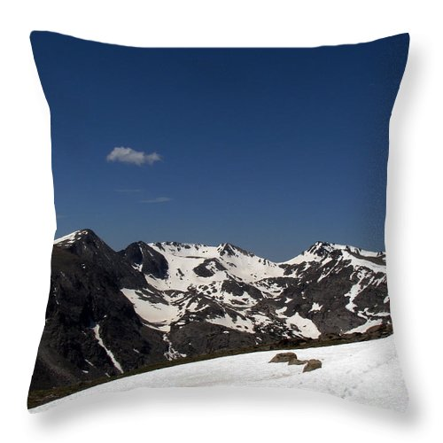 Colorado Throw Pillow featuring the photograph Vast Mother by Amanda Barcon