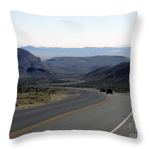 Las Vegas Throw Pillow featuring the photograph Vegas Bound by Kelvin Booker