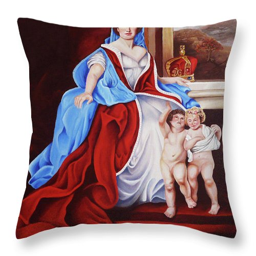 Venerated Virgin Pillow