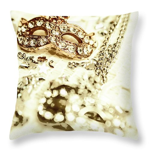 Venetian Throw Pillow featuring the photograph Venetian Crystal Style by Jorgo Photography - Wall Art Gallery