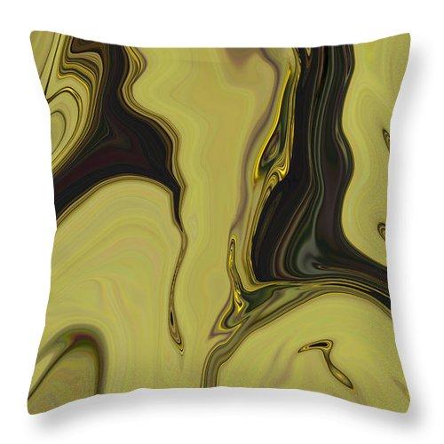 Art Throw Pillow featuring the digital art Venus by Rabi Khan