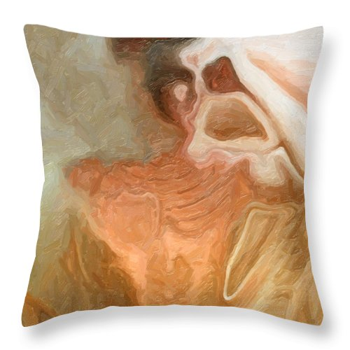 Very Thin Man Throw Pillow For Sale By Joaquin Abella