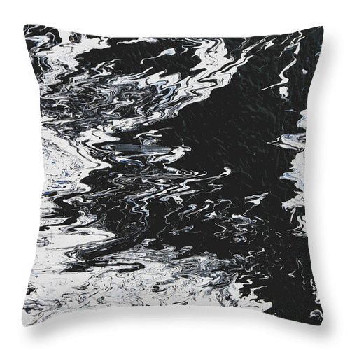 Fusionart Throw Pillow featuring the painting Victory by Ralph White